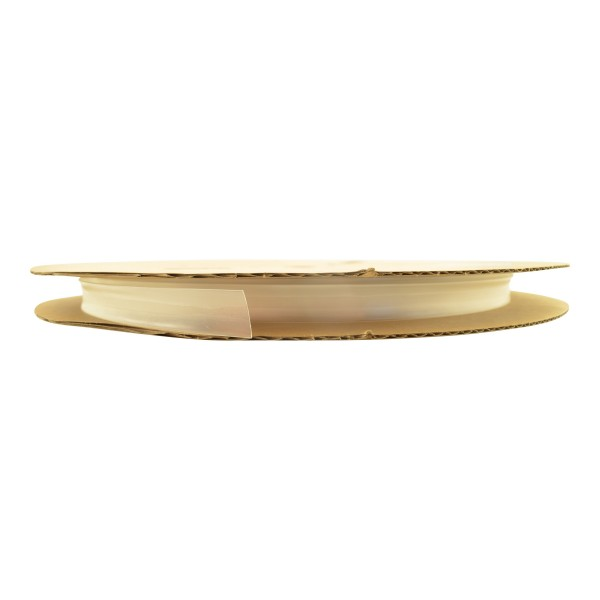 Schrumpfschlauch Isolierschlauch 2:1 (D=9,5mm/d=4,8mm) Transparent, Länge 75 m auf praktischer Spule