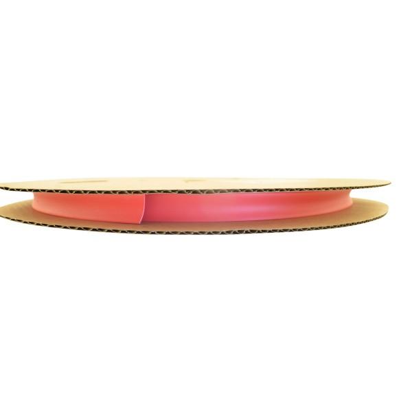 Schrumpfschlauch Isolierschlauch 2:1 (D=4,8mm/d=2,4mm) in Rot, Länge 75 m auf praktischer Spule