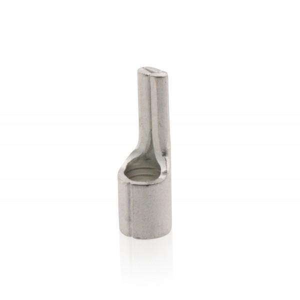 Stift-Kabelschuh, unisoliert, 0,5-1 qmm, Kupfer galvanisch verzinnt, JSQKSS1