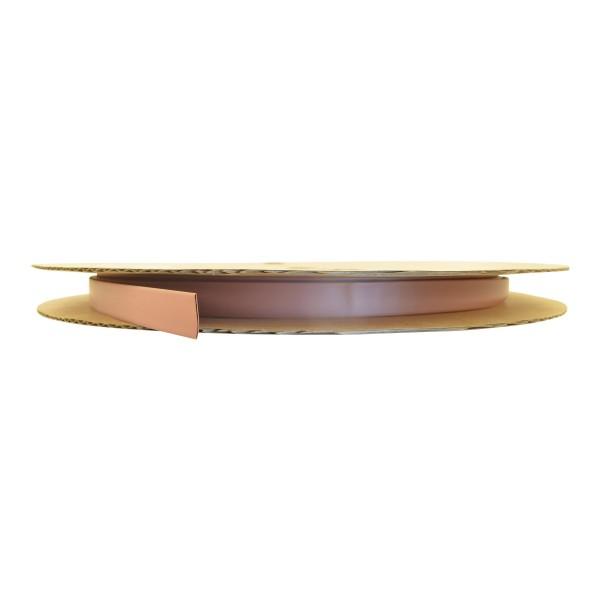 Schrumpfschlauch Isolierschlauch 2:1 (D=4,8mm/d=2,4mm) in Braun, Länge 75 m auf praktischer Spule