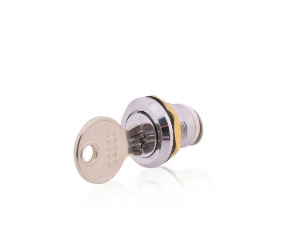 Schloß mit Schlüssel aus Metall für Sicherungskasten Typ IP40