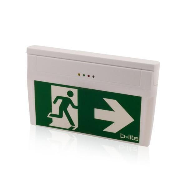 Notleuchte Rettungszeichenleuchte Notausgang Brandschutz LED IP20 Wand & Deckenmontage, Notlicht 3h