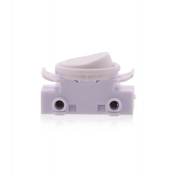 Kippschalter Lichtschalter An Aus Schalter 2A 250V Lampenschalter Ersatzschalter für Lampen in weiß