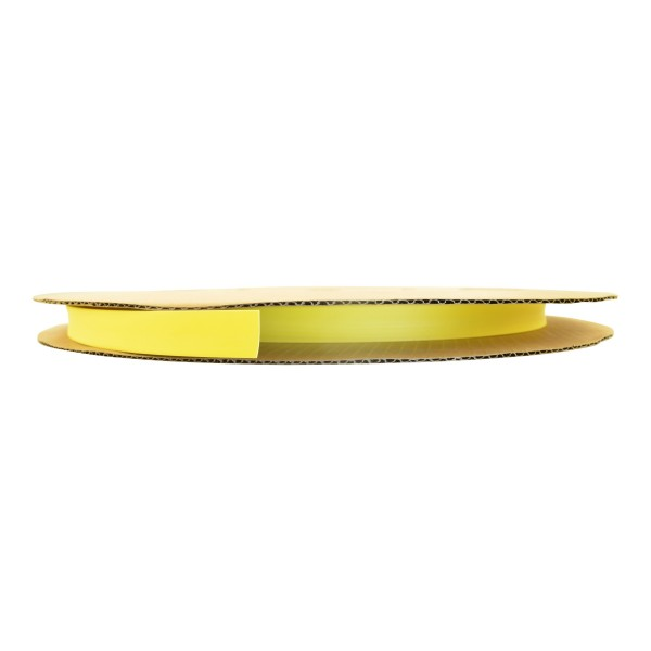 Schrumpfschlauch Isolierschlauch 2:1 (D=1,2mm/d=0,6mm) in Gelb, Länge 150 m auf praktischer Spule