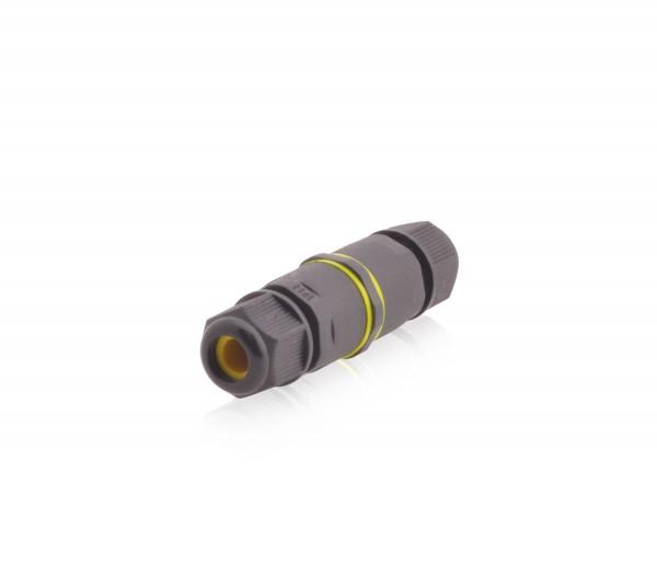 Kabelverbinder wasserdicht 3-polig IP68 9A 450 V/AC Dosenmuffe für Erdkabel
