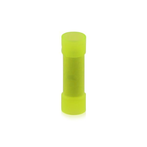 Stoßverbinder Kabelschuh isoliert Nennquerschnitt: 2,5-6,0qmm Kupfer galvanisch verzinnt, 100 Stück
