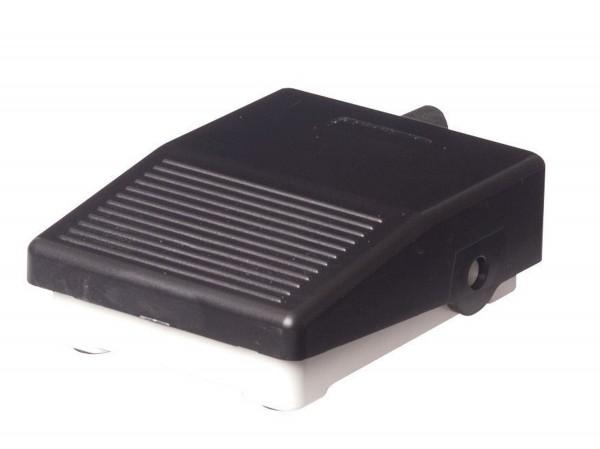 Mini Fußtaster 250VAV 3A 230VDC 0,06A IP40 1NO/1NC Grau/Schwarz