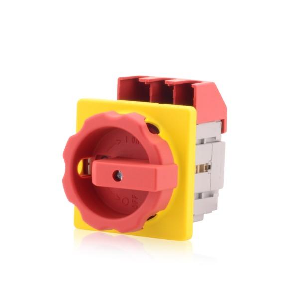 Hauptschalter Lasttrennschalter 3-polig 80A Einbauhauptschalter Not-Aus-Schalter Premium Version VDE