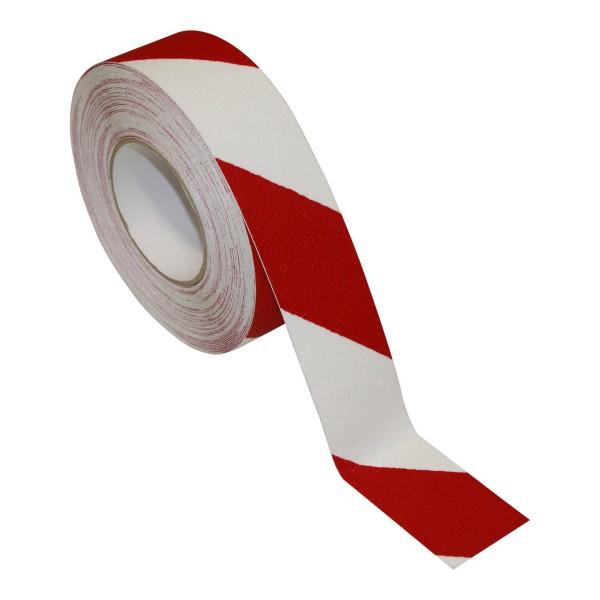 Antirutschband Universal Rot/Weiß 18m X 100mm Klebeband Selbstklebend