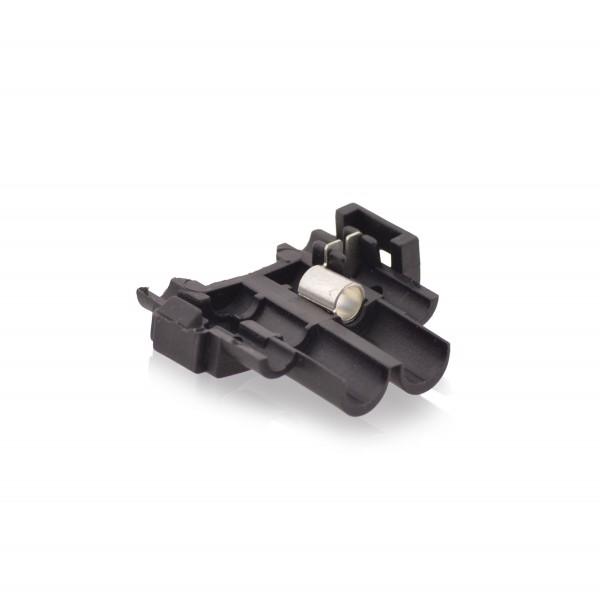 Kabelabzweigklemmen Stromdieb Stromabzweiger Schwarz W: 28mm L: 31mm