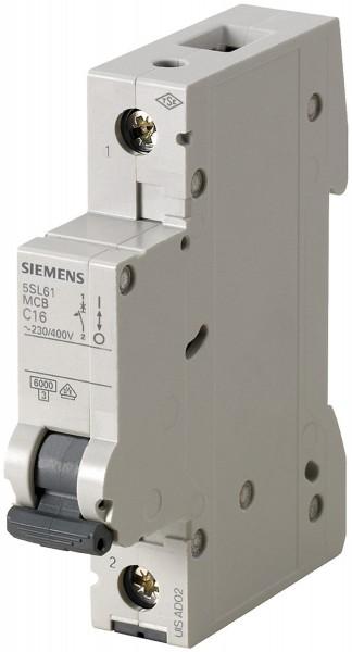 Siemens 5SL6110-7 Leitungsschutzschalter C 10A 1-polig 6KA 230/400V