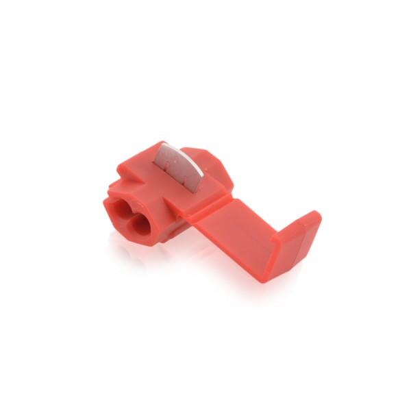Kabelabzweigklemmen Stromdieb Stromabzweiger Rot W: 20mm L: 27mm