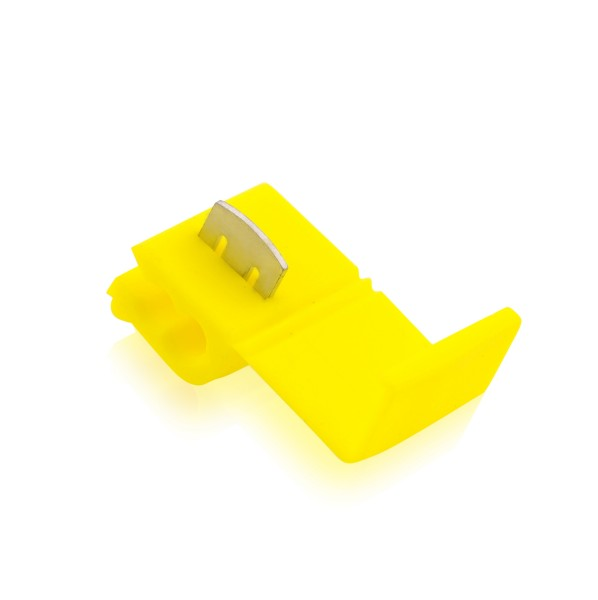 Kabelabzweigklemmen Stromdieb Stromabzweiger Gelb W: 21mm L: 27mm