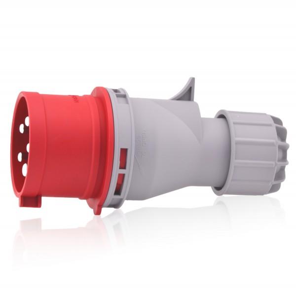 CEE-Stecker 32A 400V 6h IP44 5-polig(3P+N+E) Industriequalität CE SB