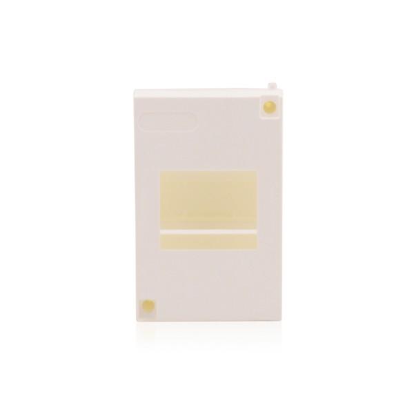 Sicherungskasten Schaltschrank Weiß ohne Tür Aufputz 1-reihig 3 TE, IP30, 63A kompakt für Innenräume