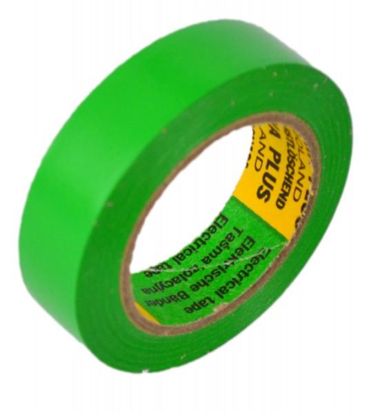 Isolierband Isoband Elektriker Klebeband 15mm x 10m grün