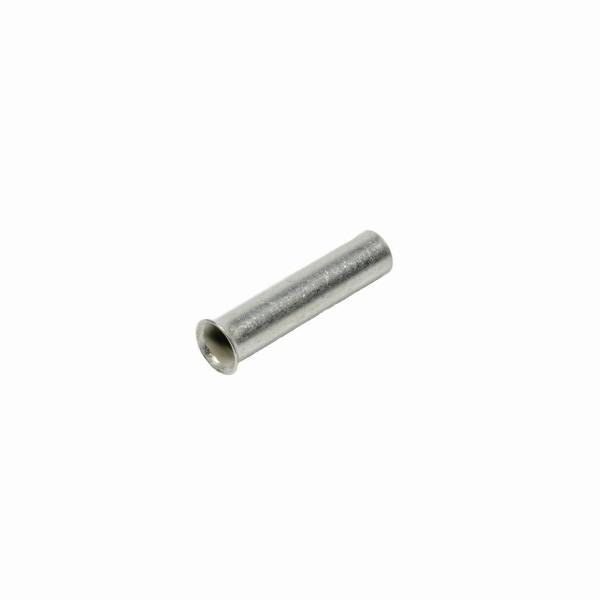 Aderendhülse 0,75mm² Querschnitt 6mm Länge galvanisch verzinnt unisoliert 75-6