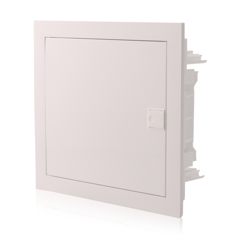 IP40 650/°C Media transparente T/ür Multimediaverteiler Kommunikationsverteiler Unterputz