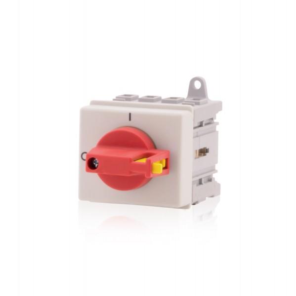 Hauptschalter Lasttrennschalter 4-polig 25A DIN-Normverteilung Not-Aus-Schalter Premium Version VDE