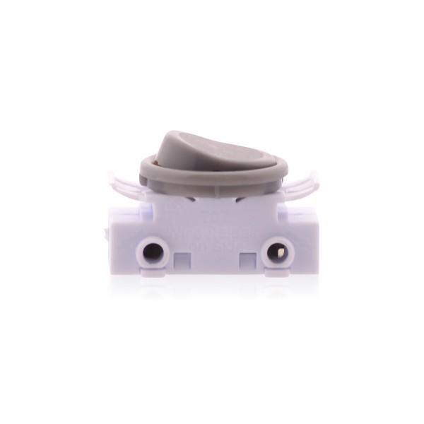 Kippschalter Lichtschalter An Aus Schalter 2A 250V Lampenschalter Ersatzschalter für Lampen in grau