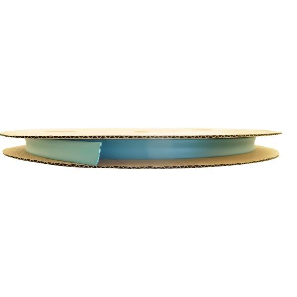 Schrumpfschlauch Isolierschlauch 2:1 (D=6,4mm/d=3,2mm) in Grün, Länge 75 m auf praktischer Spule