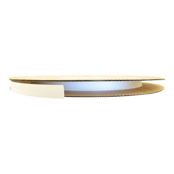 Schrumpfschlauch Isolierschlauch 2:1 (D=12,7mm/d=6,4mm) in Weiß, Länge 75 m auf praktischer Spule