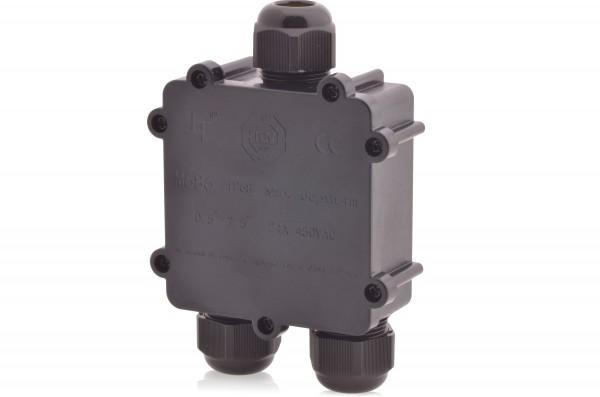 Verteilerdose wasserdicht 4-polig IP68 24A 450V AC Dosenmuffe Erdkabel