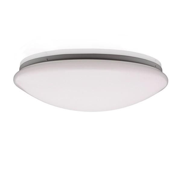 22W LED-Sicherheitsleuchte Wannenleuchte mit Notlicht IP44 Wand- u Deckenlampe 230V AC