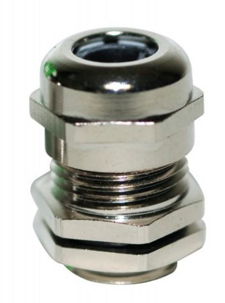 Kabelverschraubung PG16 mit Gegenmutter Metall JSPG16KVS-M