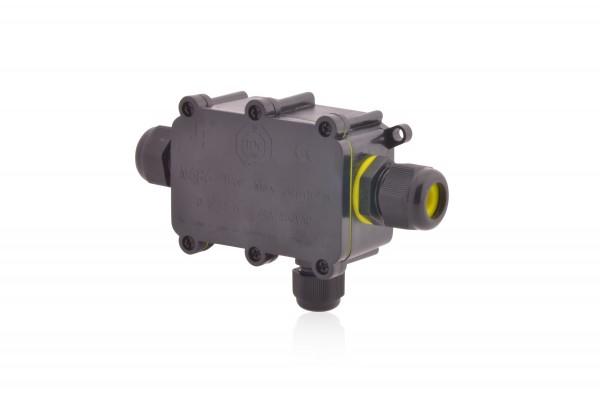 Abzweigdose wasserdicht 3-polig IP68 24A 450V AC Erdkabel