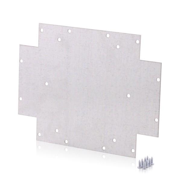 Montageplatte für Industriegehäuse 460x380x120, Tragplatte, JS7924 NEU-OVP