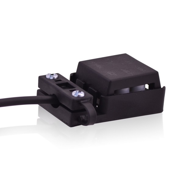 Verbinderbox 24A 450V T100 Kabelverbinderbox 3 Wege in schwarz