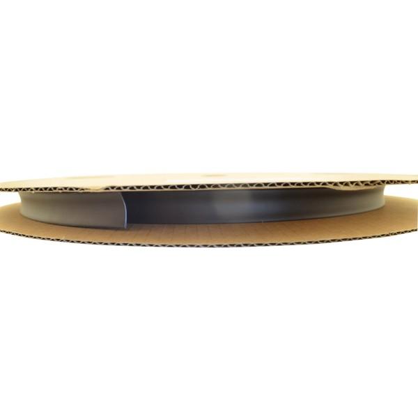 Schrumpfschlauch Isolierschlauch 2:1 (D=12,7mm/d=6,4mm) in Schwarz, Länge 75 m auf praktischer Spule